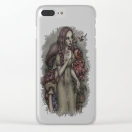 Alison Wunderland Clear iPhone Case