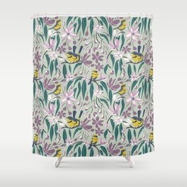 Summer Melody Shower Curtain