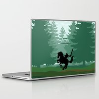 the legend of zelda Laptop & iPad Skins featuring Legend Of Zelda by Kesen