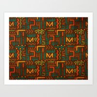 african Art Prints featuring African by Arcturus