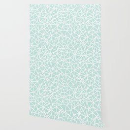 Ab Outline Thick Mint Wallpaper