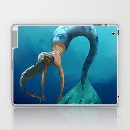 Mermaid with large scales Laptop & iPad Skin