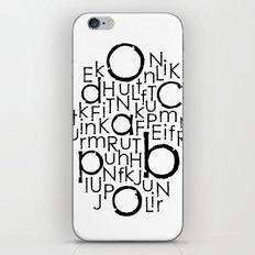 typo iPhone & iPod Skin