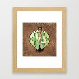 Briar Moss Framed Art Print