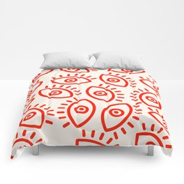 Eye Pattern Comforters