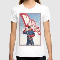 bucky T-shirts featuring Bucky Barnes by Arne AKA Ratscape