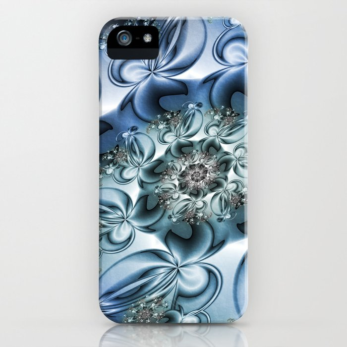 Dynamic Spiral, Abstract Fractal Art iPhone Case