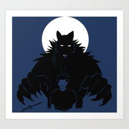 Beast in me Art Print