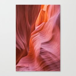 Canyon Swirls Canvas Print