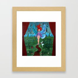 The Feme Sole Framed Art Print