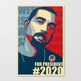 2020 President Canvas Print