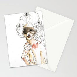 The Judgement is the Mirror Stationery Cards