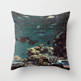 Meriggio a Gorgonia Throw Pillow