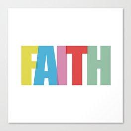 Faith (Color) Canvas Print