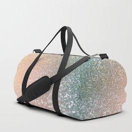 Rosequartz Rose Gold glitter - Pink Luxury glitter sparkling design Duffle Bag