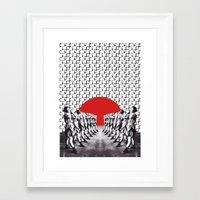 feminism Framed Art Prints featuring Feminism (2014) by Matthieu Bourel / Ek dojo