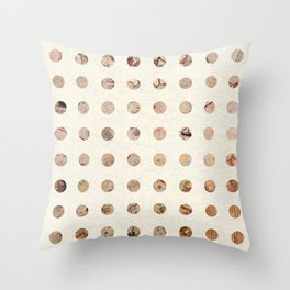 The World is Flat Throw Pillow