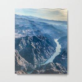 Grand Canyon and Colorado river Metal Print