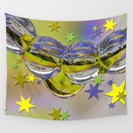 H2O and stars Wall Tapestry