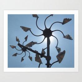 Sedona Sun Art Print