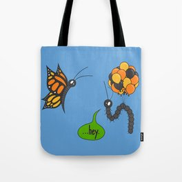 A Bug Ahead of Its Time Tote Bag