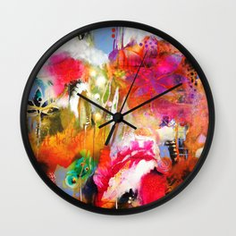 We Dwell in Possibility Wall Clock