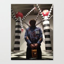 Ash With Tim Canvas Print