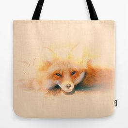 Soft and Foxy Tote Bag