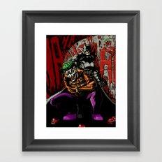 Laughing In The Dark Framed Art Print