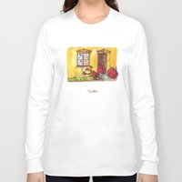 witch Long Sleeve T-shirts featuring Witch by Pepan