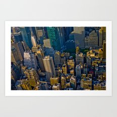 Top of the Empire #10 Art Print