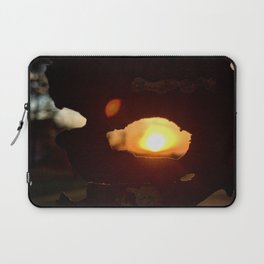 In the Eye of the Sunset Laptop Sleeve