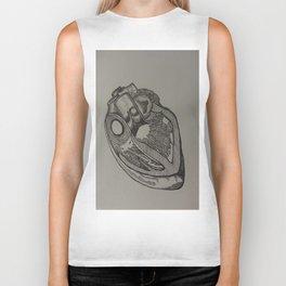 Heart Dissection Biker Tank