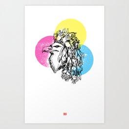 Handful Eagle Art Print
