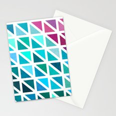 Triangles #7 Stationery Cards