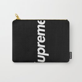 Supreme Black on Black Carry-All Pouch