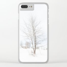 Tree // Winter Clear iPhone Case