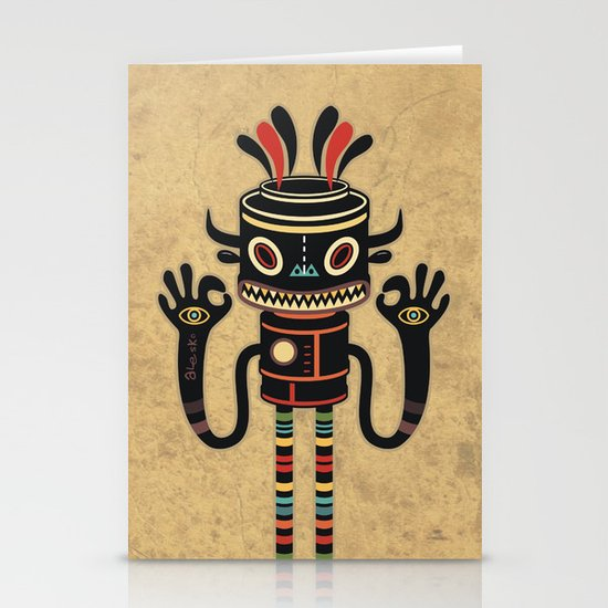 Tribe Gathering Stationery Cards
