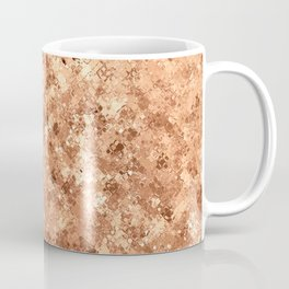 Geometrical elegant abstract faux gold ombre Coffee Mug
