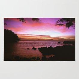 Kona Hawaii Sunset Rug