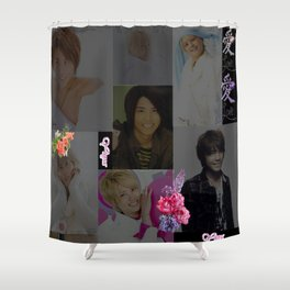 Floral Love Tego Shower Curtain