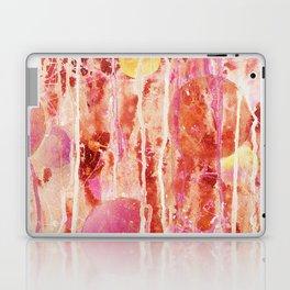 Red Glowing Spheres Laptop & iPad Skin