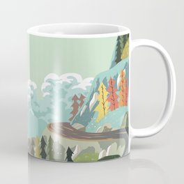 Mountains Girls Coffee Mug