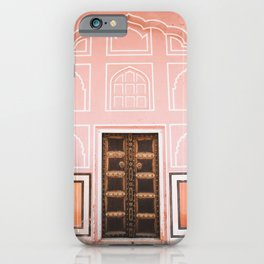 City Palace Door in Jaipur, Rajasthan, India | Travel Photography | iPhone Case
