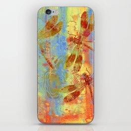 A Dragonflies QQW iPhone Skin