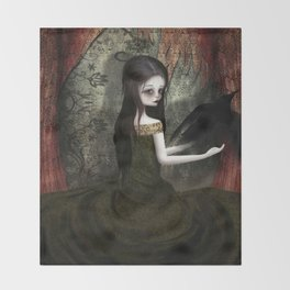 Lenore Throw Blanket