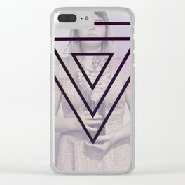 Moonstone Snapdragon Clear iPhone Case