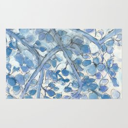 Chinoiserie Spring Blues Rug