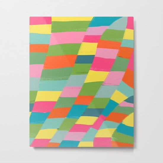 colorful patchwork 3 Metal Print