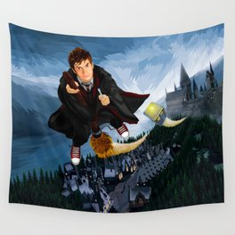 10th Doctor who lost in the wizard World Wall Tapestry